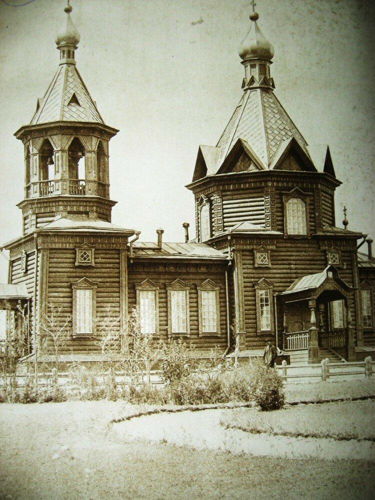 29. Церковь на станции Магдагачи