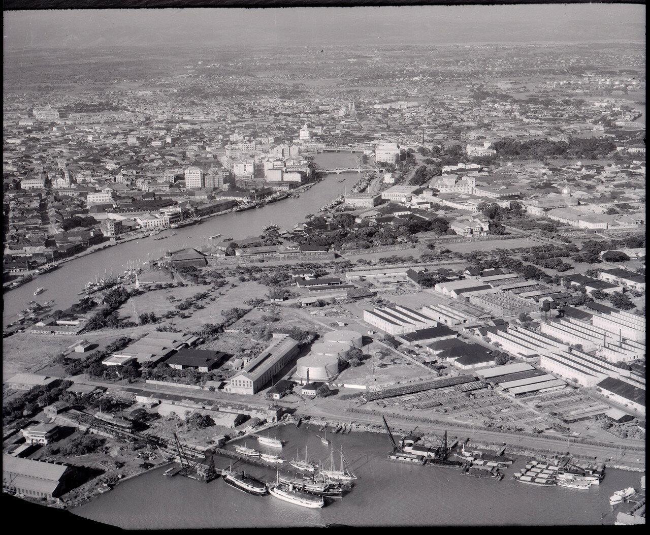 Манила. Вид на город от залива на север