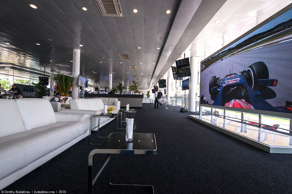 F1 Paddock Club Ticket