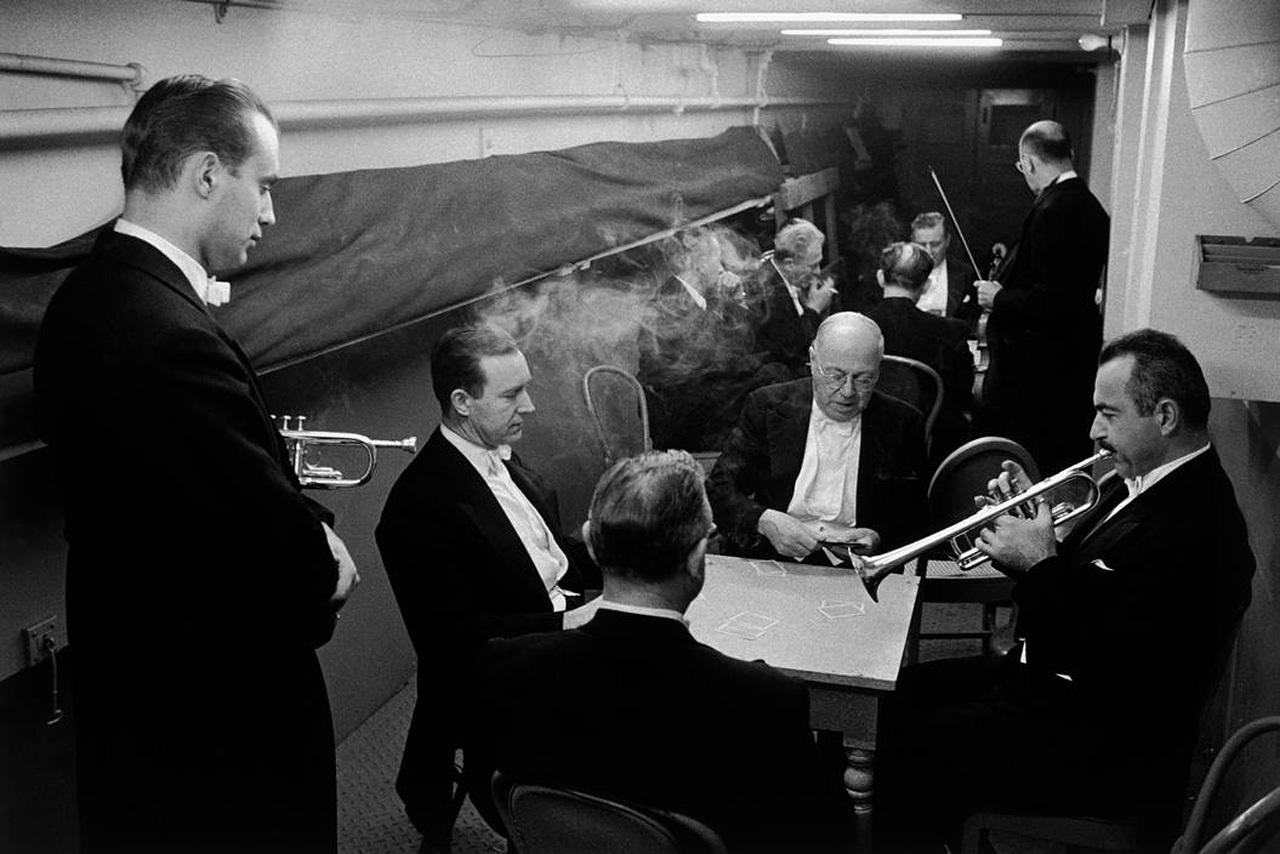 Бостонский симфонический оркестр, 1958, Бостон, Массачусетс, США, Манос Константин (1934-);