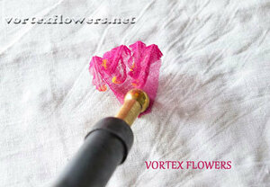 Мастер-класс. Хризантема из ткани «Ягодка» от Vortex  0_fbf83_bd141f6b_M