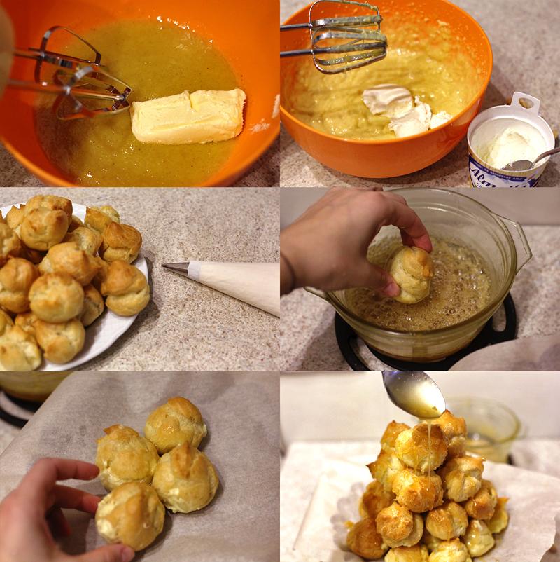 Крокембуш - пошаговый рецепт с фото #4.