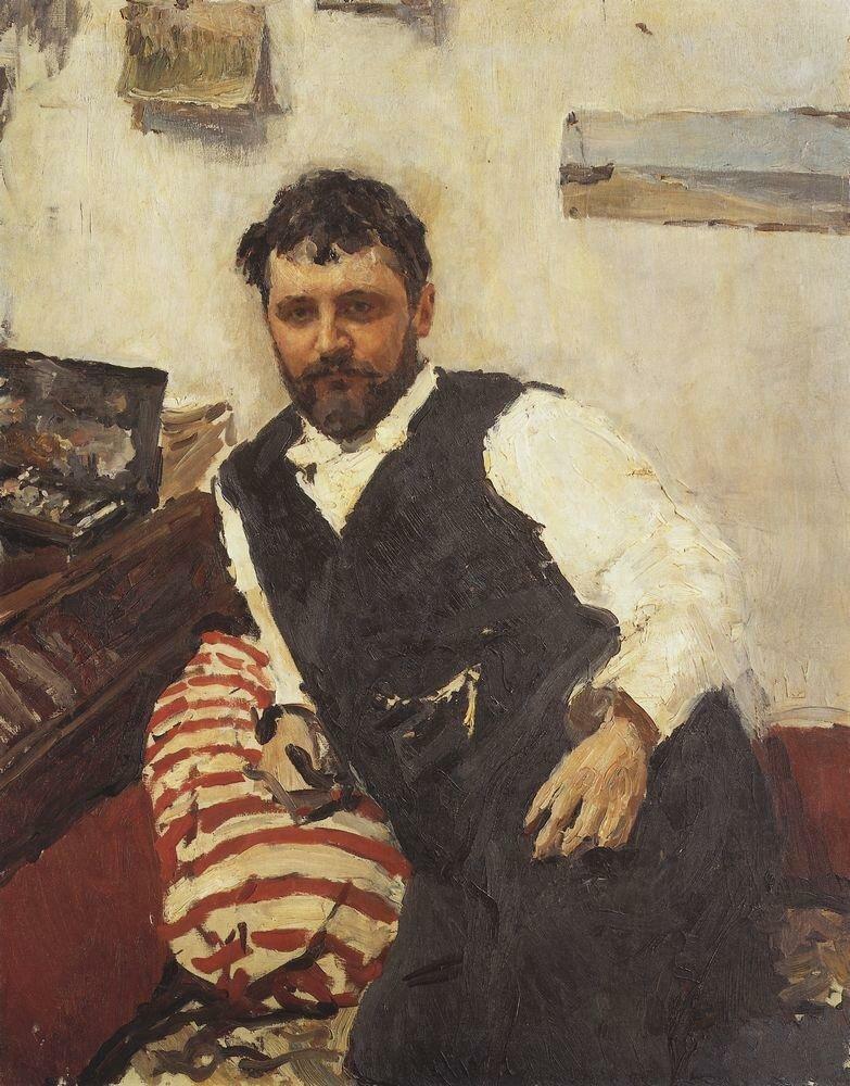 Портрет художника К.А.Коровина. 1891.jpg