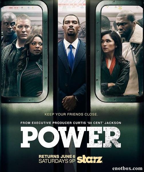 Власть в ночном городе / Power - Полный 2 сезон [2015, HDTVRip | HDTV 720p] (Amedia)