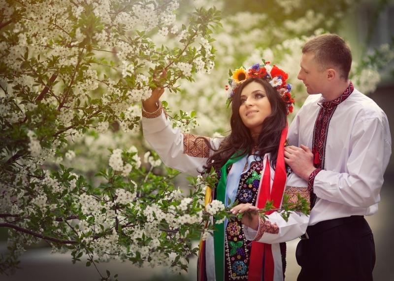 Украинская свадьба: триотличия отрусской свадьбы