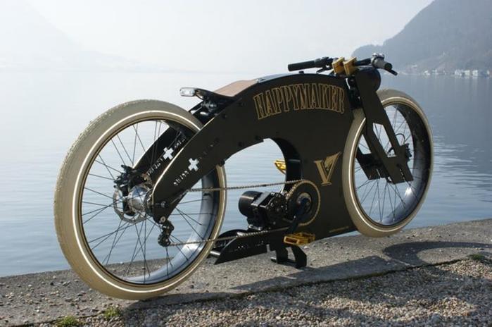 Необычные и креативные велосипеды