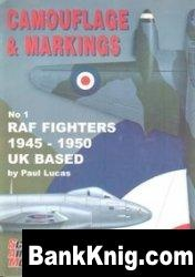 SAM Camouflage & Markings No 1: RAF Fighters 1945-1950 UK Based