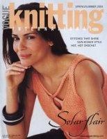 Журнал Vogue Knitting International - Spring/Summer 2004 pdf 103Мб