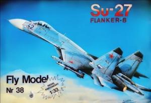 Книга Истребитель СУ-27 (Fly Model № 38)
