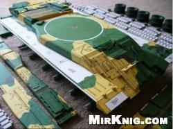 Журнал Процесс сборки в фотографиях танка Т-80UD FLY MODEL 062