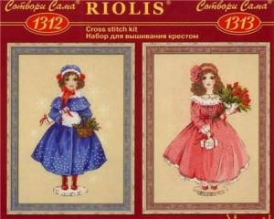 Журнал Риолис 1312-1313 Винтажные куклы Софи и Мари