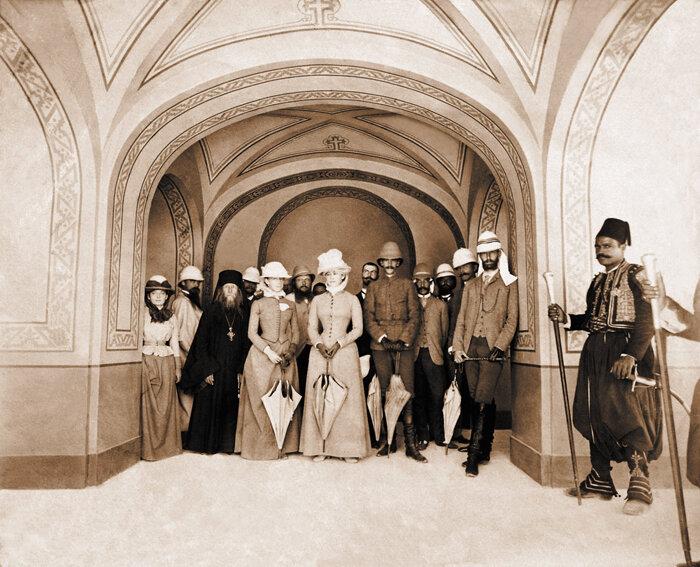 Сергей Александрович и Елизавета Федоровна на Святой земле, 1888