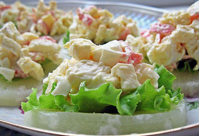 Смотреть рецепты салатов и закусок с