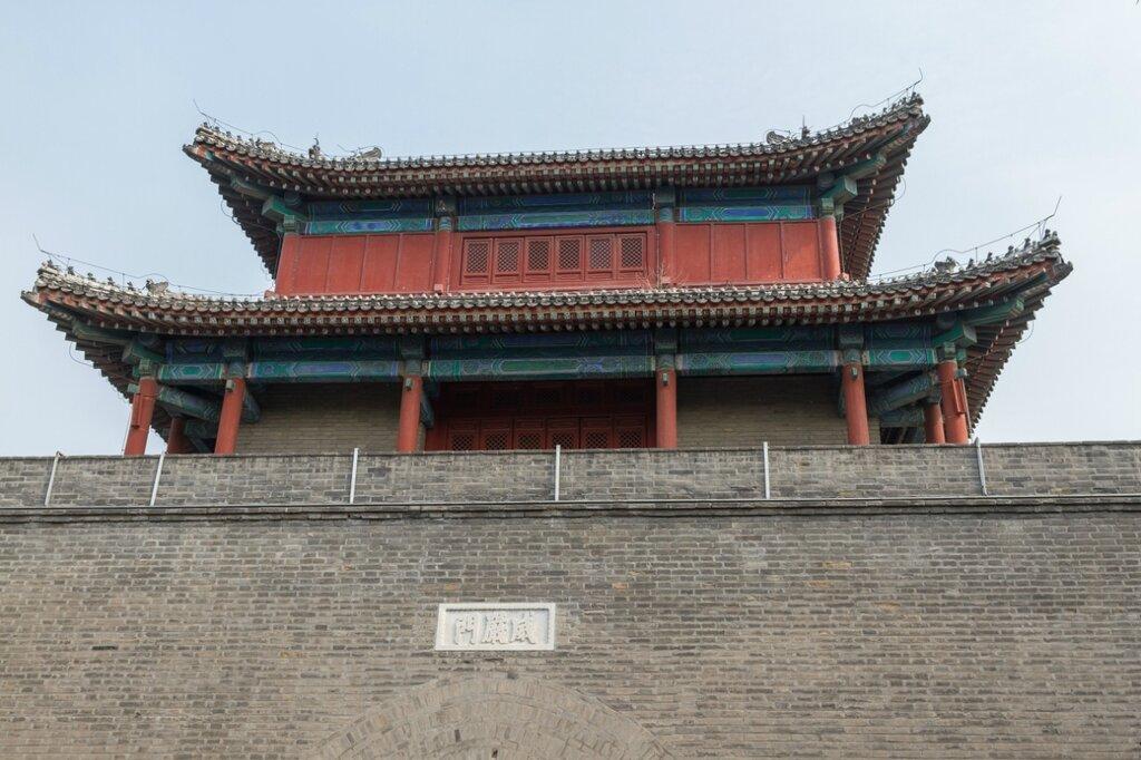 Башня над воротами Вэйянь, крепость Ваньпин