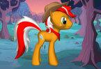 Мои Маленькие Пони собираем пироженное и яблоки
