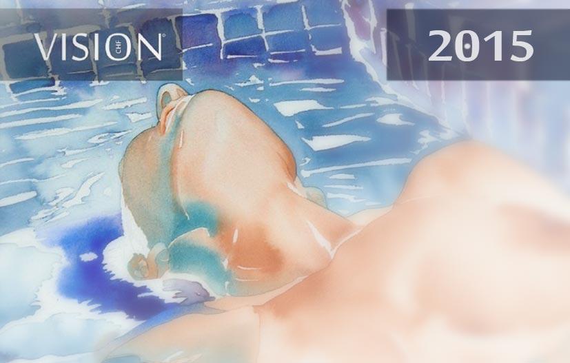 календарь арт-журнала CHF Vision 2015 calendar