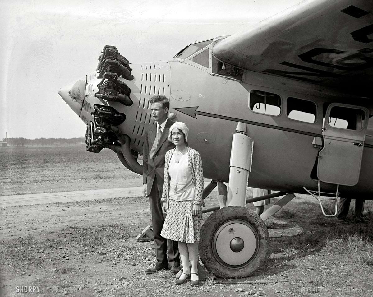 Самолеты и пилоты начала 20-го века на снимках американских фотографов (38)