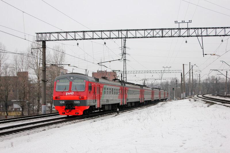 ЭД4М-0365, Перегон Санкт-Петербург Финляндский - Ланская