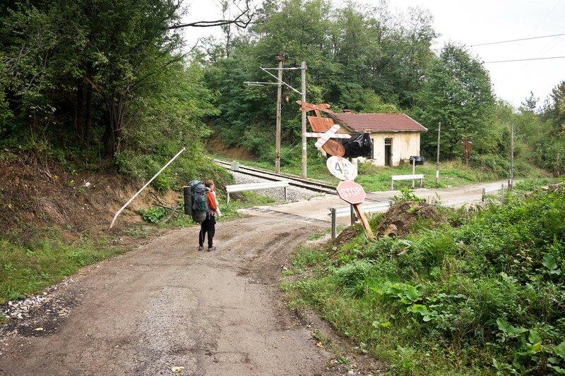 переезд станция гара Бъзовец