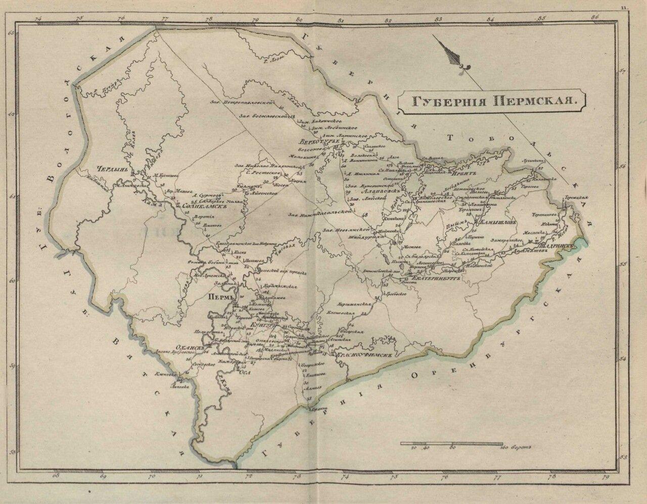 11.Пермская губерния