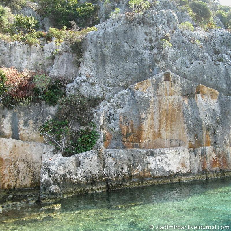 Руины древнего города Долихисте