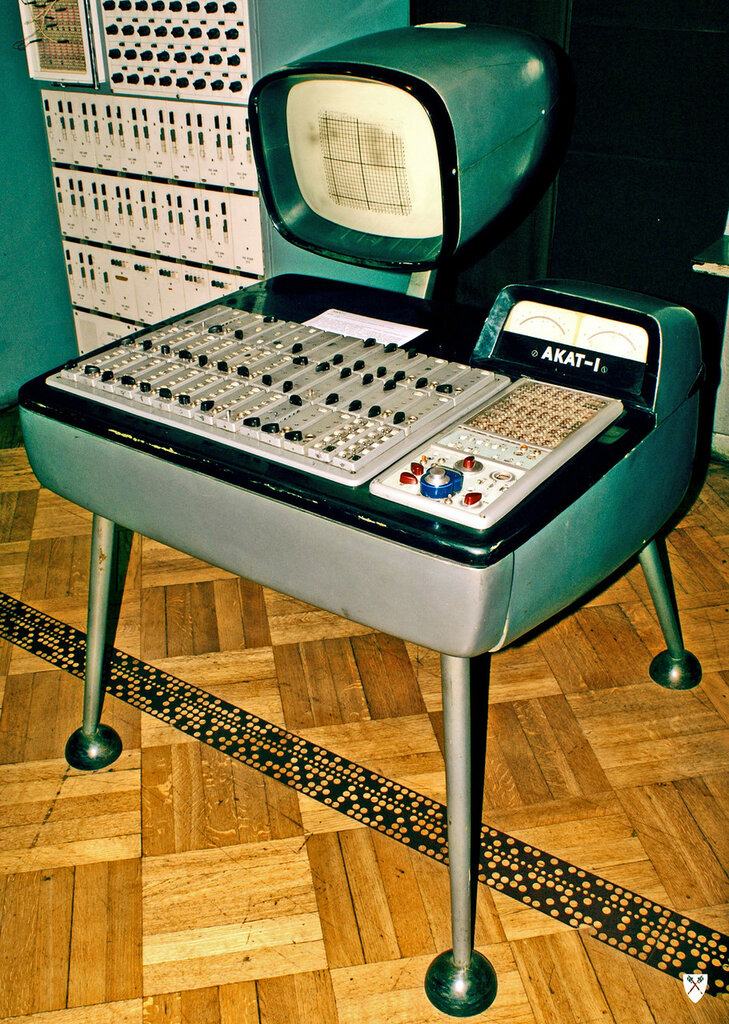 This is the AKAT-1, a Polish made analog computer from the 1960′s.jpg