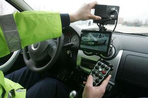 """Молдавские полицейские работают на """"подставной"""" машине"""