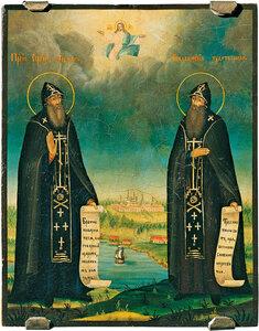 Преподобные Сергий и Герман валаамские чудотворцы