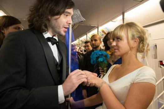 Свадьба в метро Нью Йорка 0 11e5f8 4566fc83 orig