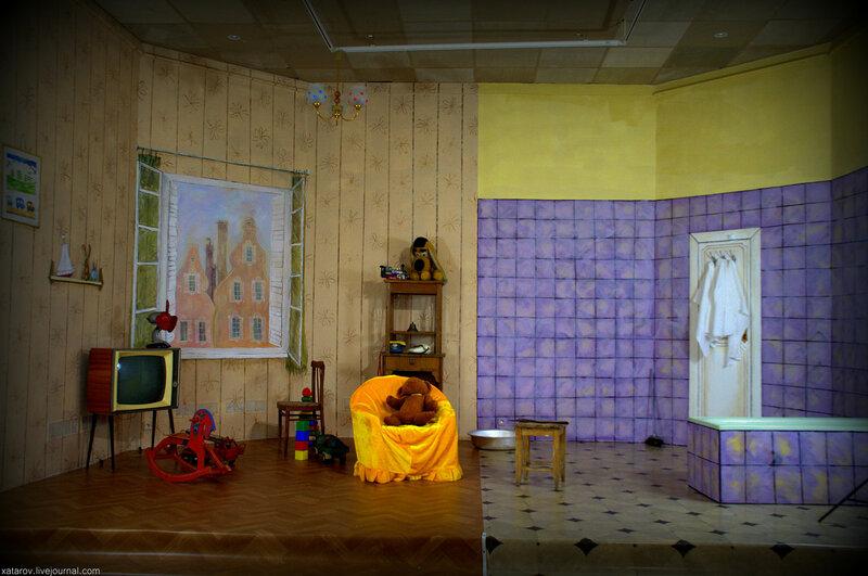 Выставка Карлсона в государственной галерее на Солянке. Декабрь 2014 года