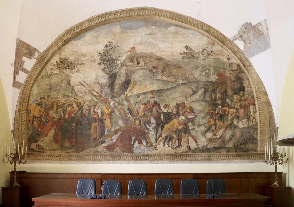 Неаполь. Монастырь Санта Мария Ла Нова (Convento di Santa Maria la Nova)