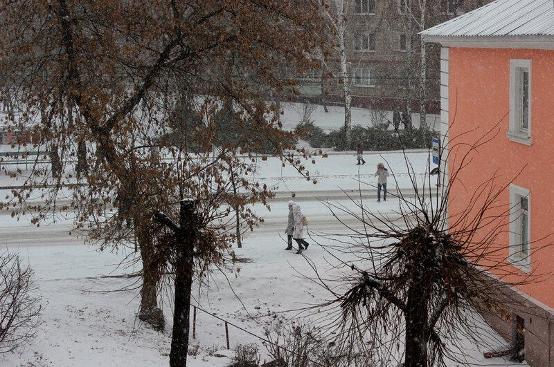 Наконец-то наступила зима. 25 дек. 2014 г.