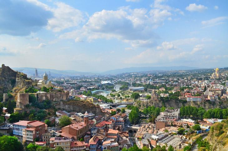 Фотографии и текст — Тимура Пулузашвили 1. История города как столицы Грузии начинается примерно в V