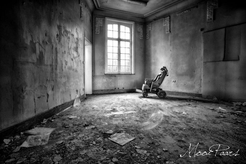 5. В центральном здании располагались офисы, монастырь и сама психиатрическая клиника. Оно было