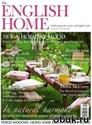 Книга The English Home - August 2012