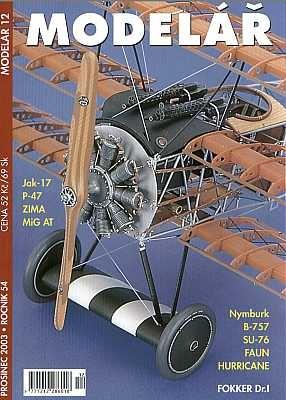 Журнал Modelar 2003 No 12