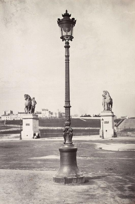 Газовый фонарь на Марсовом поле. 1868