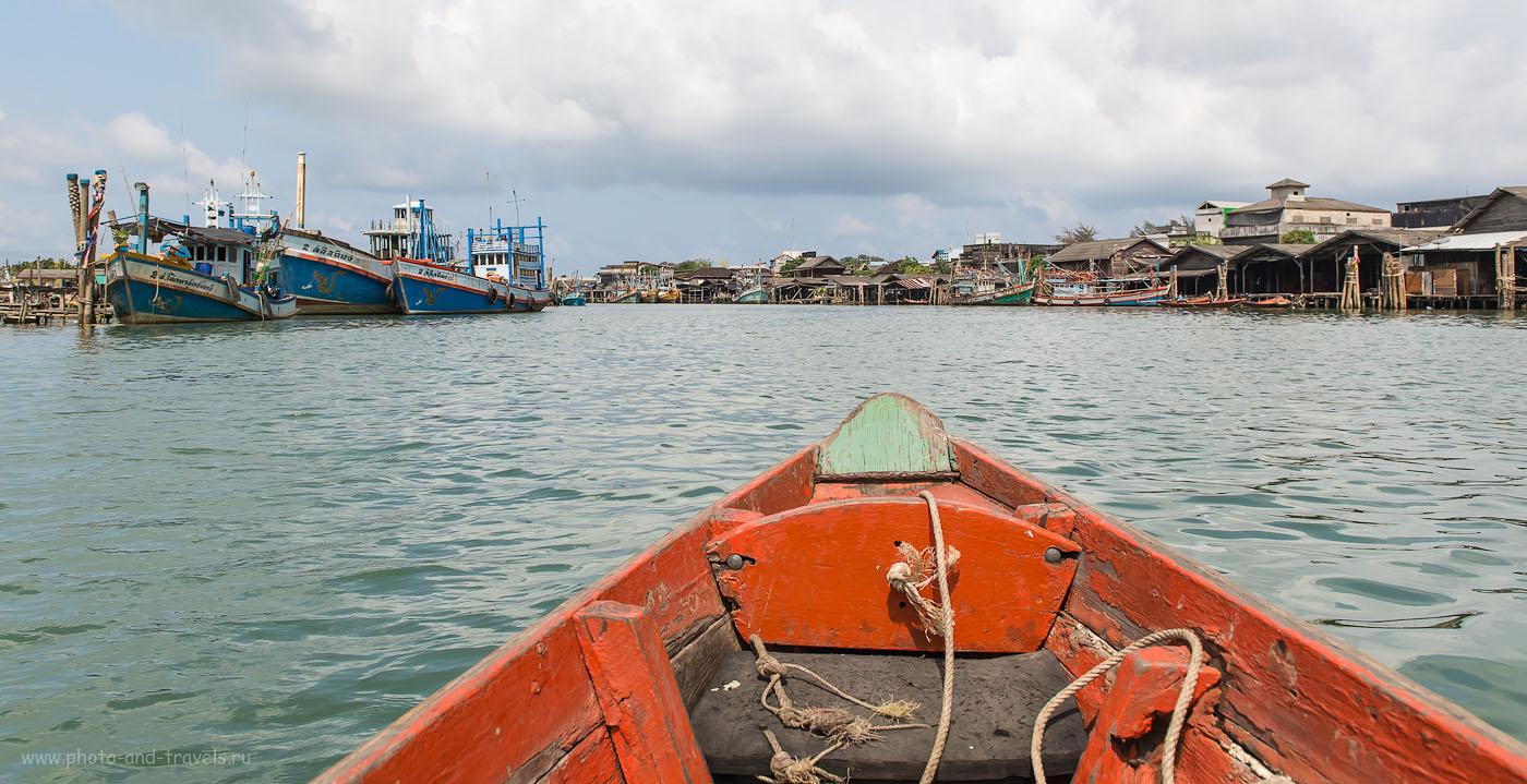 Фото 16. Что посмотреть в Таиланде. Поезжайте в рыбацкую деревню  в окрестностях города Чумпхон. Речные просторы (320, 24, 8.0, 1/800)