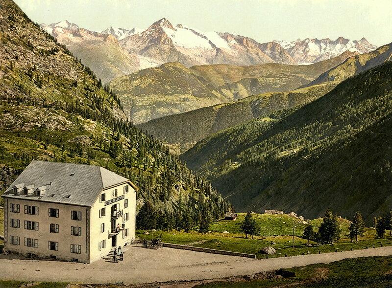 29. Перевал Симплон, отель «Бельвю»
