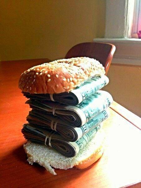 Гамбургер...русский  )))
