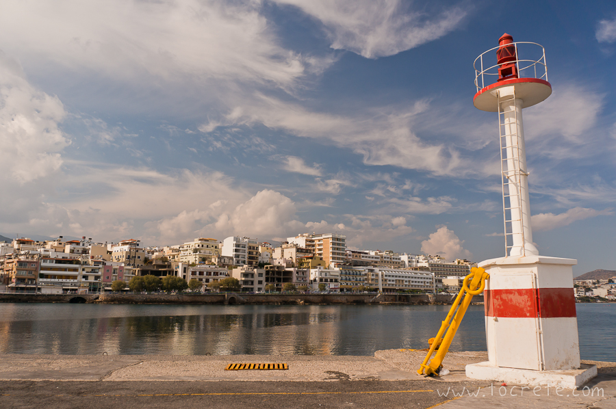Агиос Николаос. Маяк. Agios Nikolaos. Lighthouse