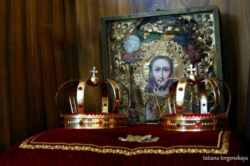 В церкви Рождества Пресвятой Богородицы
