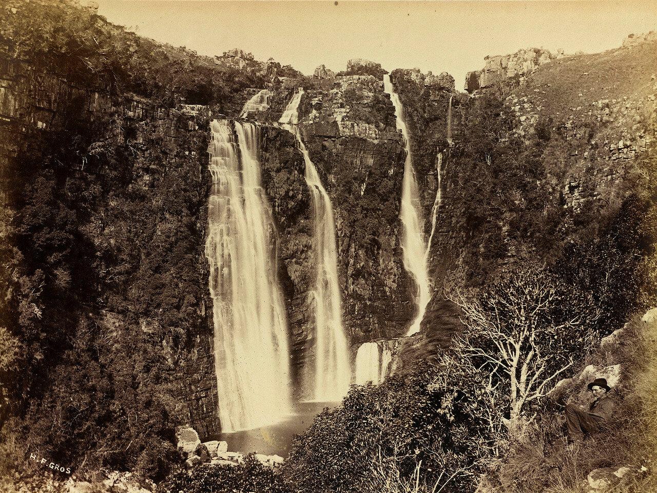 Водопад Мак Мак в восточной части колонии Трансвааль