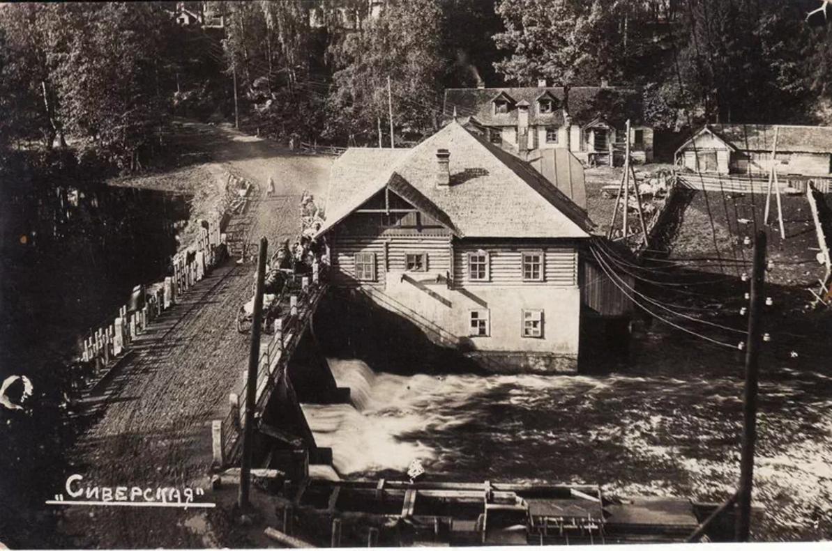 Мельница на реке Оредеж