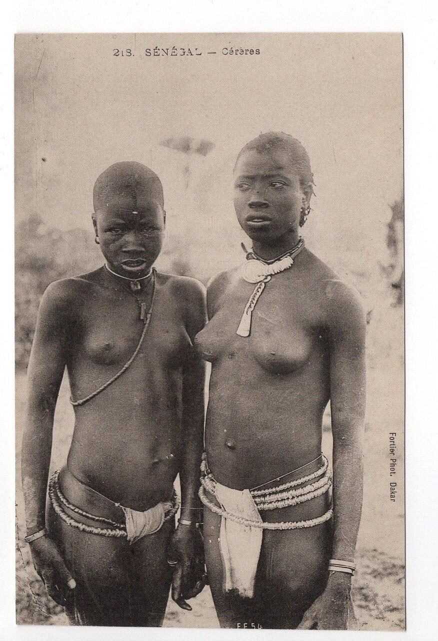 Сенегал. Женщины народности гереро