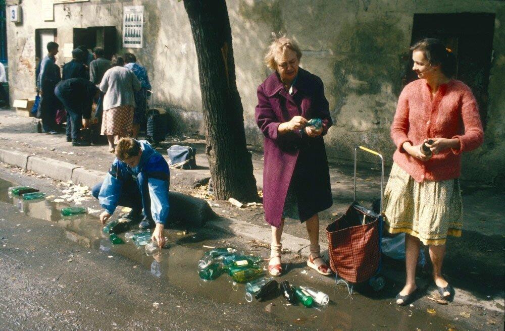 Безотходное производство в Безбожном переулке 1970-е