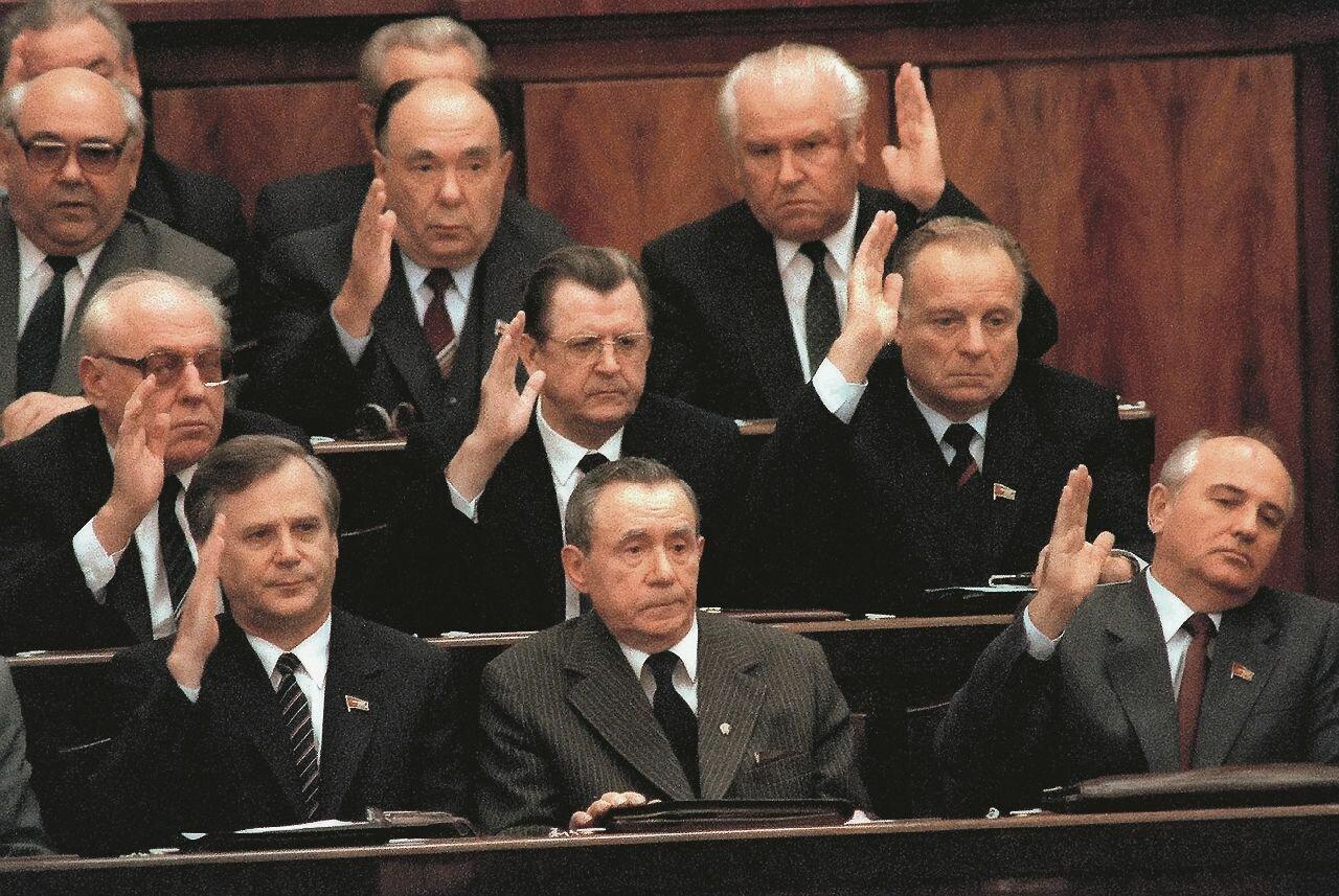 «Снова в центре внимания». Андрей Громыко, 1988