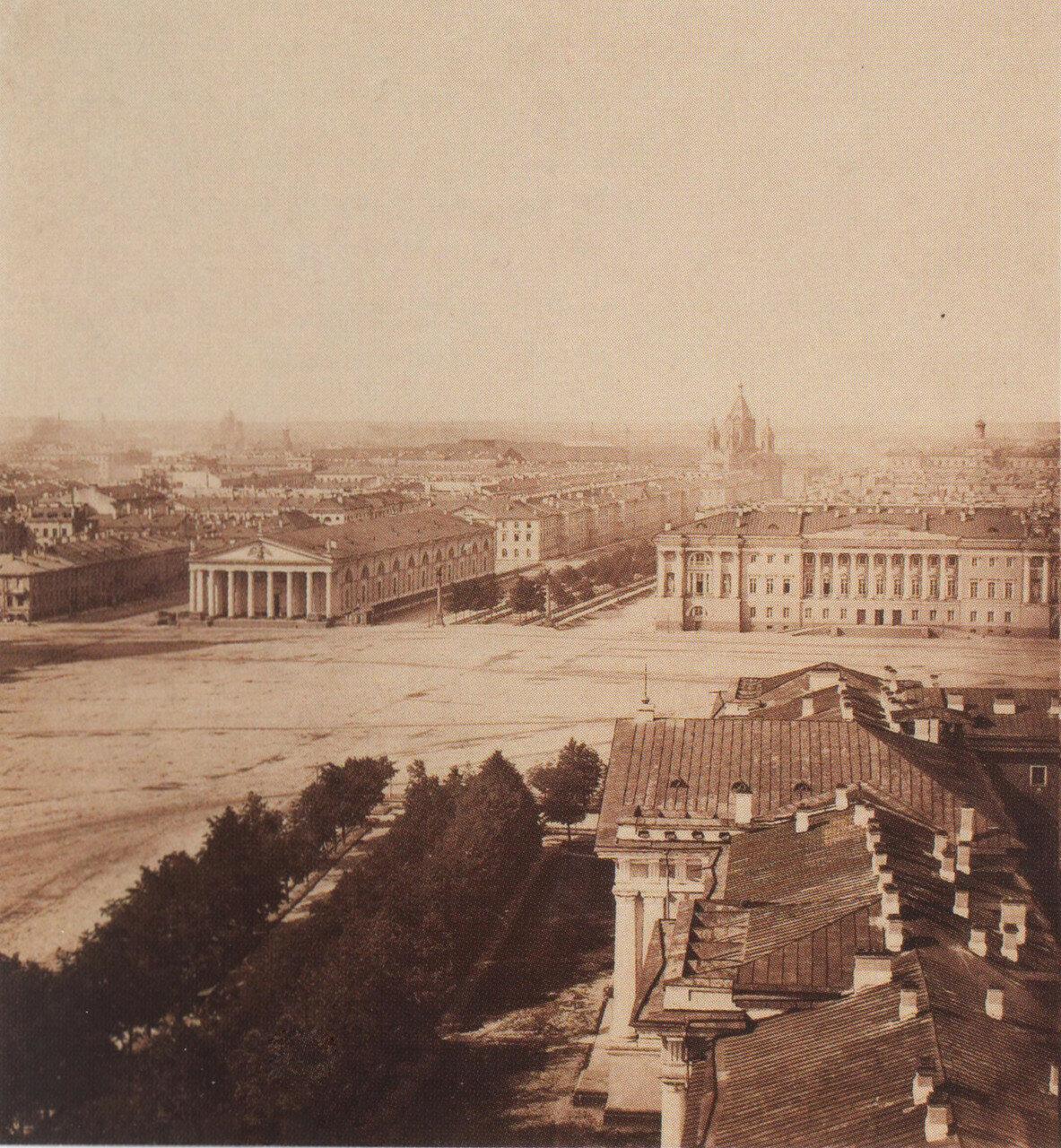 Панорама Санкт-Петербурга. 1861 1