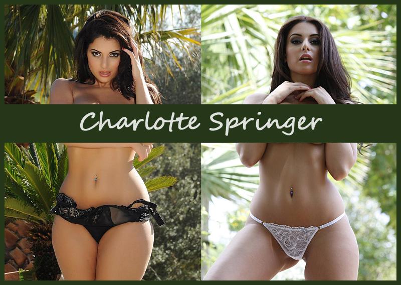 Британская модель Шарлотта Спрингер (Charlotte Springer)