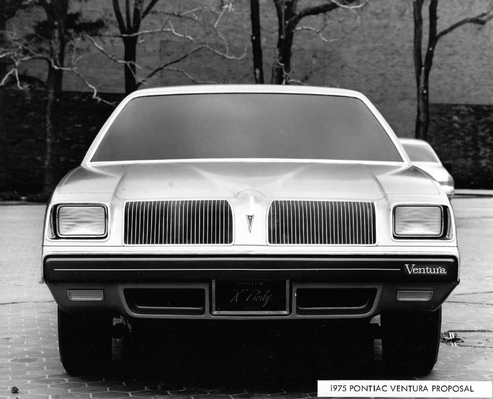 Photo caption - 1975 Pontiac Ventura Proposal. Full size clay model.jpg